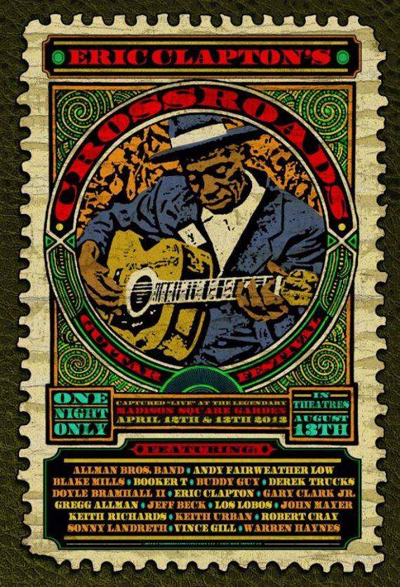 Eric Clapton's Crossroads Guitar Festival 2013, nuevo documental