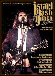 Israel Nash gira española Ruin Plans en octubre 2013