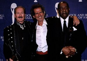 Johnnie Johnson, Keith Richards y James Burton