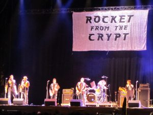 Rocket from the Crypt en el Azkena Rock festival 2013