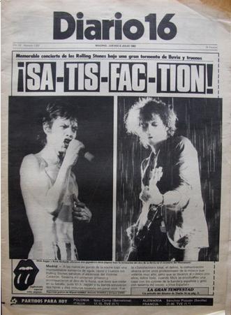 concierto vicente calderon rolling stones 1982