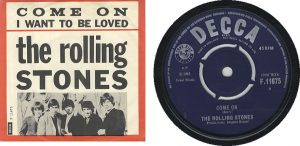 The Rolling Stones primer single Come On, 7 junio 1963