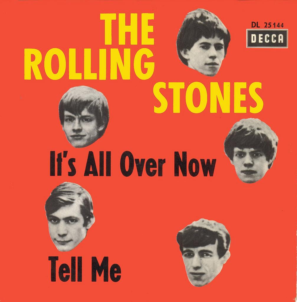 """The Rolling Stones y su primer número uno, """"It's All Over Now"""""""