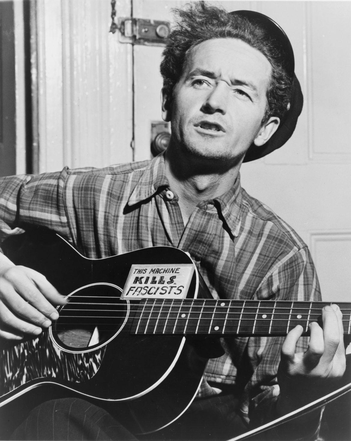 Woody Guthrie, 101 años de Folk Urbano