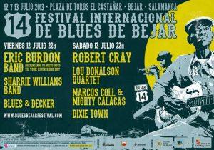 CARTEL FESTIVAL BLUES DE BEJAR