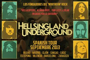Hellsingland Underground entrevista y gira española 2013 Spanish Tour