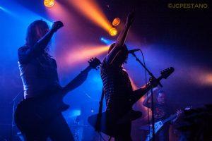 The Datsuns en concierto Noveau Casino París agosto 2013