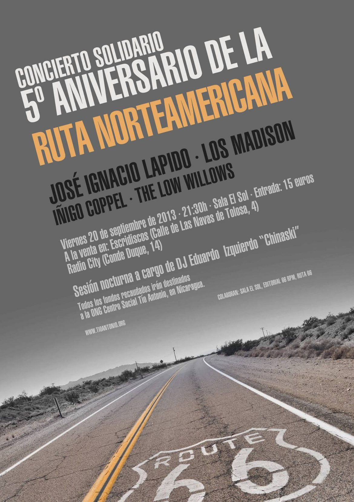 5º Aniversario del blog La Ruta Norteamericana de Fernando Navarro