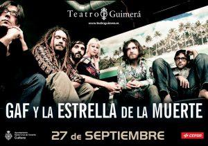 GAF y la estrella de la muerte presentan Sunriser en el Teatro Guimerá