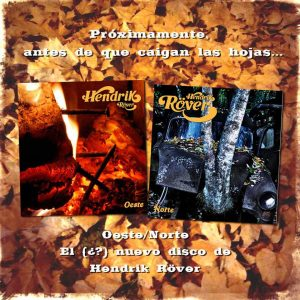 Hendrik Röver nuevo disco Oeste Norte