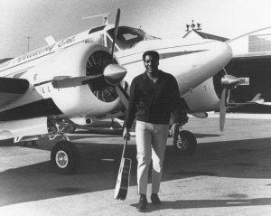 Otis Redding en su avioneta en el día de su 72 aniversario
