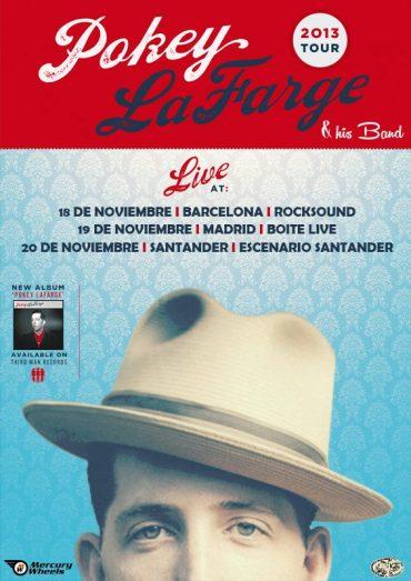 Pokey Lafarge gira española y europea en noviembre 2013