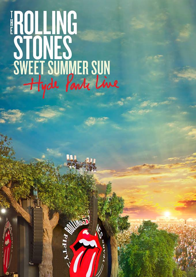 The Rolling Stones, Sweet Summer Sun, Hyde Park Live, nuevo DVD, Bluray, CD y LP