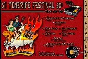 11º Tenerife Festival 50′s Rock'n'Roll de Vulcan Rockers en octubre