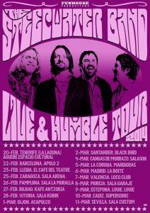 Gira española de The Steepwater Band en España 2014