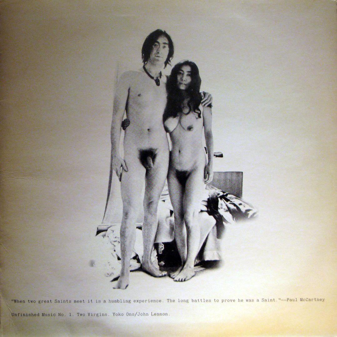 John Lennon, 73 aniversario y desnudo con Yoko Ono