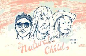 """Natural Child """"Hard in Heaven"""" de gira en España"""