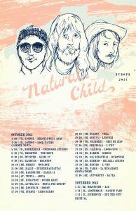 "Natural Child ""Hard in Heaven"", gira española y europea 2013"