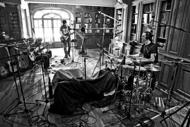 Última Experiencia, durante la grabación de su trabajo con Eddy Kramer