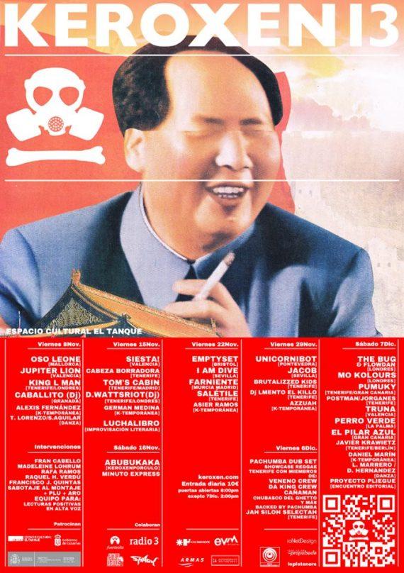 5º edición Keroxen 13 en noviembre y diciembre 2013