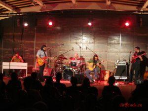 Frank Wild Year en concierto La Fuerza Macabra