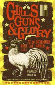 "Girls Guns and Glory ""Good Luck"", nuevo disco y gira española"