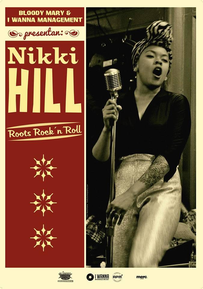 "Nikki Hill ""Here's Nikki Hill"", nuevo disco, entrevista y gira española"