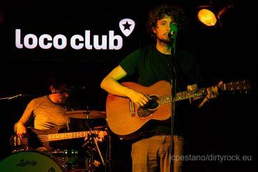 Sam Amidon en su gira española, Loco Club Valencia