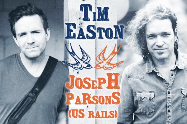 "Tim Easton presenta ""Not Cool"" y Joseph Parsons ""Empire Bridges"" (US Rails), gira española"
