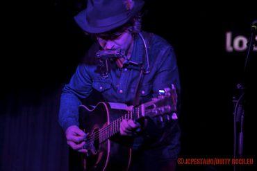 Tim Easton presentando en Valencia Not Cool, su nuevo disco