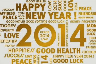 Feliz 2014 Happy New Year!