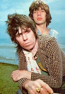 Keith Richards cumple 70