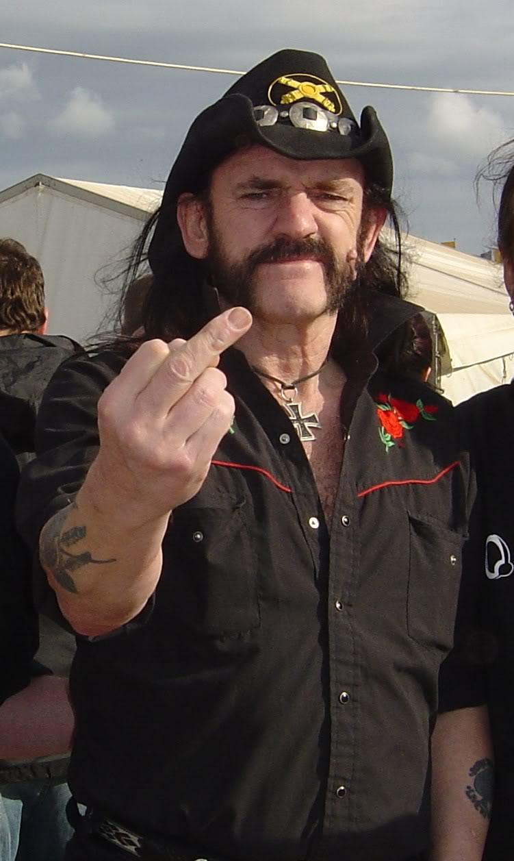 Lemmy Kilmister, 68 años de Rock & Roll