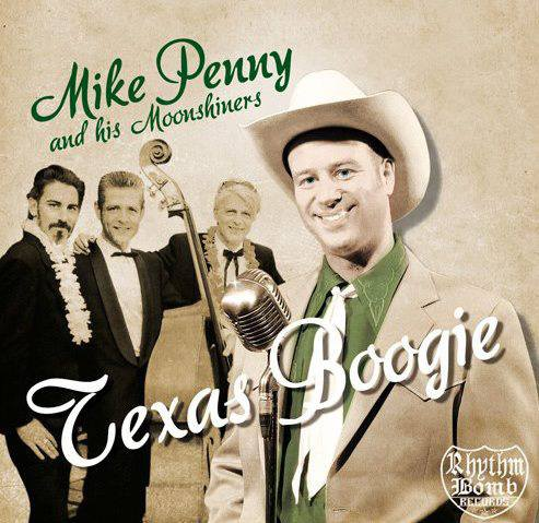 Mike Penny & his Moonshiners, Texas Boogie nuevo disco