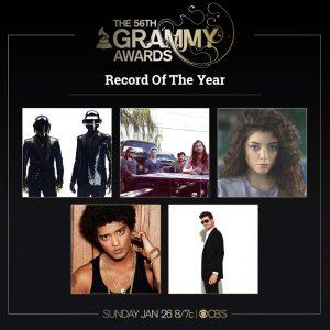 Premios Grammy 2014 en enero