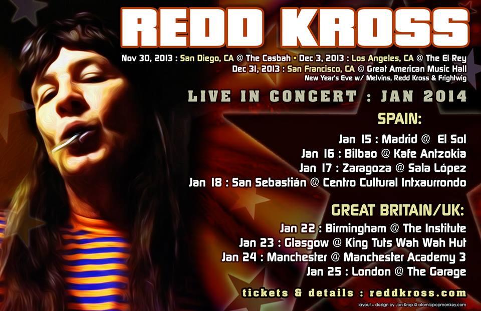 Red Kross gira española en enero 2014