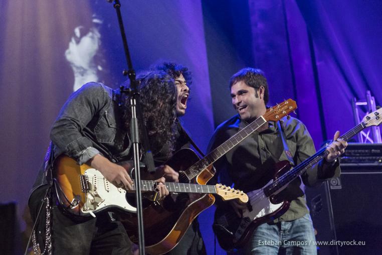Said Muti, Juanma Barroso y Marcial Bonilla durante su actuación en Capital Sonora 2013