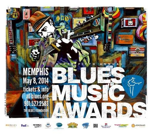The 35th Blues Music Awards Blues Awards (BMA) 2014. Los grandes premios del Blues