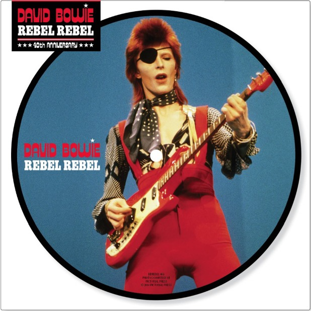 "David Bowie ""Rebel Rebel"", 40 aniversario"