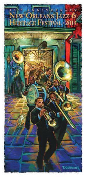Festival de Jazz de Nueva Orleans 45 aniversario