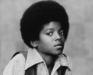 Henry Diltz y Michael Jackson