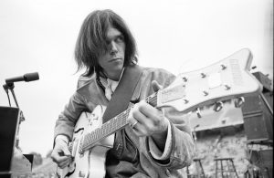 Henry Diltz y Neil Young