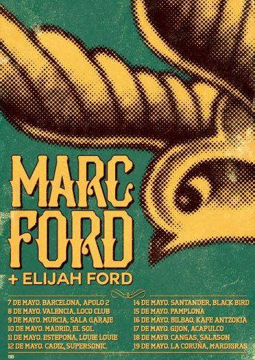 Marc Ford y Elijah Ford gira española 2014