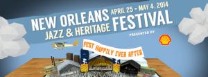 New Orleans Jazz festival 2014 con un cartel prodigioso