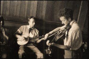 Pete Seeger y Woody Guthrie. Pete Seeger ha muerto