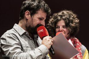 Ángel Carmona y Paula Quintana