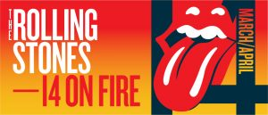 The Rolling Stones 14 on fire gira mundial 2014