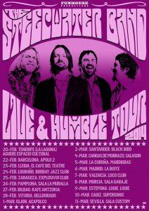 The Steepwater Band entrevista. Live & Humble nuevo disco y gira española
