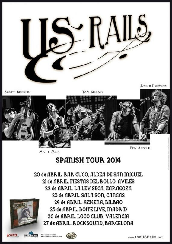 US Rails gira española 2014