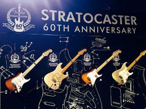 Fender Stratocaster cumple su 60 aniversario